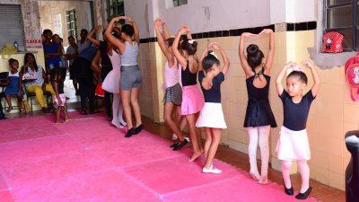 Prefeitura de Itaboraí oferece aulas de balé e outras atividades gratuitas