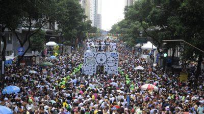 Carnaval movimentou R$ 3,78 bilhões na economia do Rio